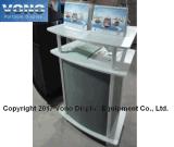 Beweglicher Messeen-Bildschirmanzeige-Ausstellung-Kostenzähler-fördernder Gegenausstellungs-Kostenzähler