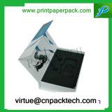 Коробка косметик упаковки печатание Cmyk способа бумажная с вставкой пены