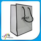 Bolsa de papel impresa aduana reciclada del regalo