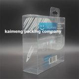 Caixa personalizada de boa qualidade caixa promocional de plástico transparente para iPad Package (caixa de promoção de plástico)