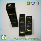 Formati differenti del lusso che piegano casella di carta cosmetica