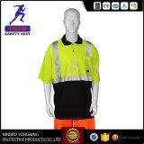 Vestiti della camicia di sicurezza di alta qualità con nastro adesivo riflettente En20471