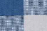 Matéria têxtil colorida transversal Placemat para a HOME & o restaurante
