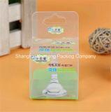 Ambiental de plástico transparente de PVC bebé Nuk Cajas Paquete de Diseño