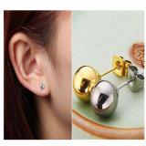 標準的な宝石類の方法女性のステンレス鋼の円形のスタッドのイヤリング