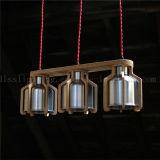 Kreative einfache hölzerne Kunst-Kaffeestube-Gaststätte-hängende Lampe mit Cer-Bescheinigung