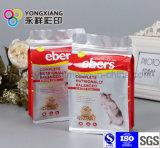 Прокатанный материальный мешок застежки -молнии еды любимчика