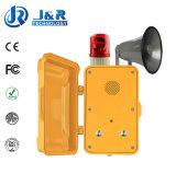 Tunnel-Notruftelefon, drahtloses wetterfestes Telefon, drahtlose Tiefbautelefone