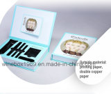 Embalaje de maquillaje pantalla de papel cartón rígido de caja de cosméticos