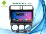 Androide Systems-Auto GPS-Navigation für Honda-Stadt 10.1 Zoll-Kapazitanz-Bildschirm mit Bluetooth/WiFi/GPS