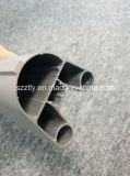6063matt анодируя естественные алюминиевые трубопровод/пробку штрангя-прессовани