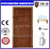 Porte intérieure de cartel en bois solide de pièce