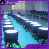 120X3w 단계 결혼식 훈장 RGBW LED 동위 빛