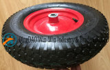 4.00-8 /400-8 عجلة هوائيّة مطّاطة مع فولاذ حافّة