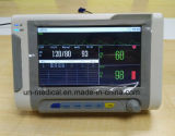 Neu-Tischplatte 7 Zoll-beweglicher lebenswichtige Zeichen-Monitor: NIBP&SpO2