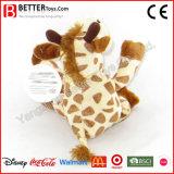 Giraffe molle de jouet de peluches pour le bébé
