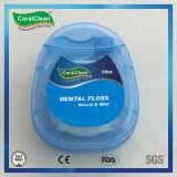 Filo per i denti alto fresco, nylon 630d, cera e filo per i denti Mint