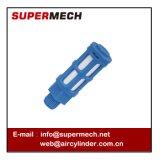 Válvula plástica neumática del silenciador del extractor de la fuente de alimentación