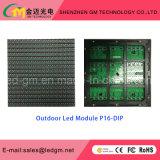 Contraste elevado/vendas quentes, indicador de diodo emissor de luz fixo ao ar livre do quadro de avisos P16mm do diodo emissor de luz