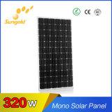 Mono comitato solare dei moduli 320W di PV per la vendita calda