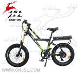 """20 """" vélos électriques ne se pliant pas de pneu large de batterie au lithium 36V"""
