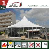 Hohe Spitze Multiside Zelt mit Glaswänden und ABS Wand für im Freienereignisse