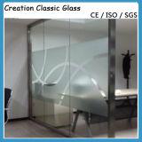 Vetro Tempered di gelo per il vetro della costruzione dell'acquazzone con il prezzo basso