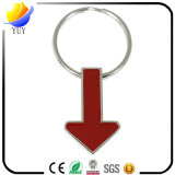 Aufwärts oder abwärts Metallpfeil-Spitze Keychain