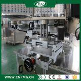 Sola máquina de etiquetado lateral de Ahesive de la botella plana automática