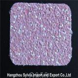 Glitter de couro de venda quente do plutônio do Glitter