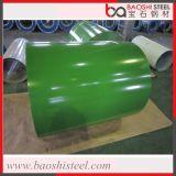 PPGI/Color a enduit la tôle d'acier/bobine en acier galvanisée enduite d'une première couche de peinture