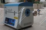 1200c Ambiente del tubo de vacío horno de cuarzo de tamaño de tubo Dia 100 X Length1000mm