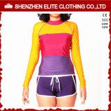 Camisa longa do protetor do prurido da luva da impressão do Sublimation para as mulheres (ELTRGJ-264)