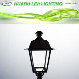 bianco freddo della lampada esterna della lampadina dei luminari della parte superiore dell'alberino dell'indicatore luminoso del giardino di 50W LED