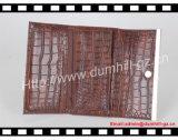 Повелительница Портмоне картины крокодила PU с тонким украшением листа металла