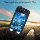 Caja plástica dura impermeable para la galaxia S4 de Samsung mini