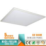 Luz del panel brillante estupenda de 120lm/W Dimmable 600*600m m 30W LED