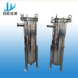 De Huisvesting van de Filter van de multi-Patroon van het roestvrij staal voor de Filtratie van het Water
