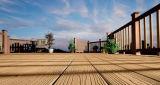 Co-Extrusion 옥외 건축재료 Decking