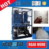 Máquina rachada da câmara de ar do gelo de Icesta para o gelo que vende 15t/24hrs