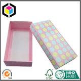 Лоснистая коробка бумаги концов вытачки печати цвета упаковывая