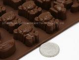 Милая животная прессформа Bakeware силикона шаржа для шоколада и торта Si26