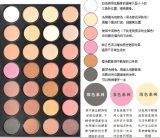 Sombreador de ojos popular de los colores de la gama de colores 28 de la sombra de ojo de Makedup de la belleza del ojo
