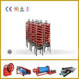 De spiraalvormige Machine van de Helling van de Concentrator voor de Gouden Verwerking van de Was van de Steenkool
