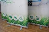 Vinyle en PVC Bannière graphique Alliage d'aluminium Pull up Banner Stand