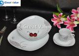 20PCS het hete Verkopende Vastgestelde Vaatwerk van het Diner van de Engels-Stijl Ceramische