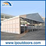 tenda esterna di evento della tenda foranea della portata della radura di 20m grande con la parete di vetro e dell'ABS da vendere