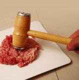 A0909- многофункциональный деревянный молоток мяса ручки