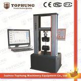 Máquina de teste elástica material universal eletrônica eletricamente operada da compressão