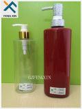 Kundenspezifische Schutzkappen und Farben sind geltende quadratisches Haustier-Plastikpumpen-Flasche